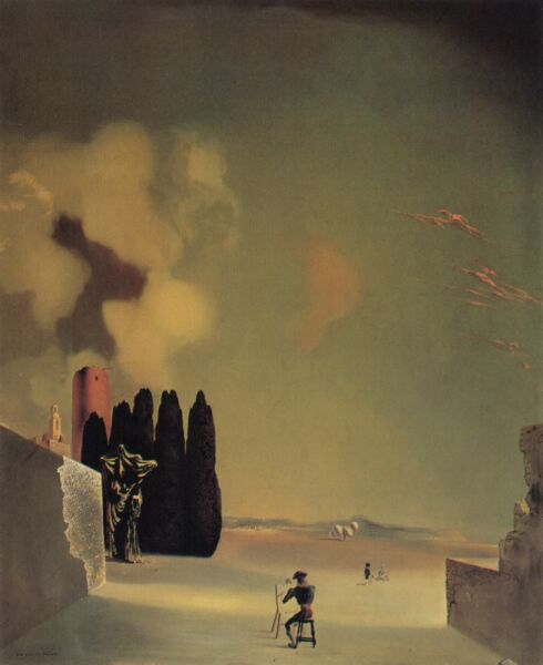 salvador dali vision of hell essay What is the metaphoric symbolism in salvador dalí's surrealism  symbols 9 vision of hell  of salvador dali and rene magritte.